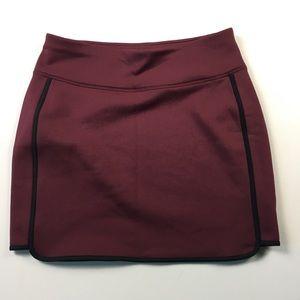 Athleta Womens Maroon Sport Skirt S B8210